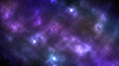 Galaxy space nebula background Stock Illustration