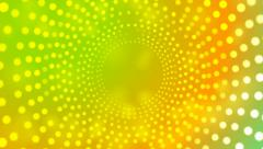Abstract colorful retro light circles video animation - stock footage