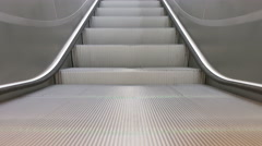 Train Station Escalators Stock Footage