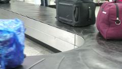 Baggage Claim in the Arrival Hall  Stock Footage