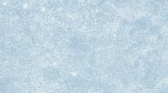 Ice on frozen window texture Stock Footage