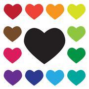 Heart   Icon Stock Illustration