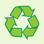 Reuse, reduce, recycle design Stock Illustration
