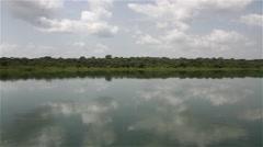 Africa Big River BUBA big river of Bolola Stock Footage