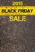 Black Friday message. Conceptual image - stock photo