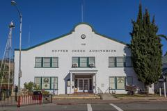 Auditorium in the historical village of Sutter Creek Stock Photos