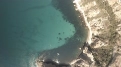 Crimea. Cape Phiolent. Aerial View. Different point shooting. Stock Footage