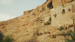 Stock Video Footage of Monastery of St. George in Israel