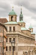 Historic Rathaus of Nuremberg - stock photo