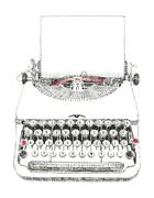 Typewriter typed Piirros