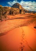 Wadi Rum desert, Jordan Kuvituskuvat