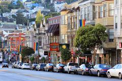 Castro district in San Francisco Stock Photos