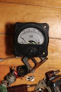 Old amperemeter Stock Photos