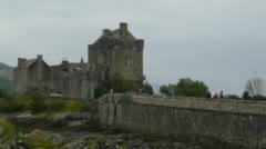 Eilean Donan Castle Stock Footage