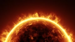 Sun in Space Stock Footage