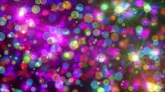 Spots night ray 4k Stock Footage