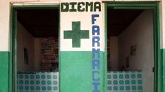 Africa pharmacy Stock Footage