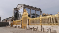 Gold Gate, Château de Versailles - stock footage