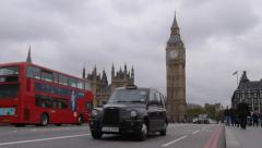 Westminster Bridge Stock Footage