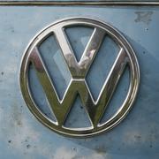 Volkswagen VW Badge - stock photo