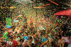 Party Club Elrow Barcelona Stock Photos