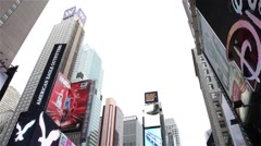 Time square in New york Stock Footage