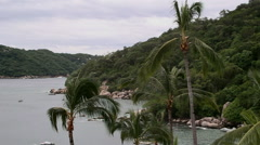 Acapulcos bay entrance Stock Footage