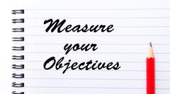 Measure Your Objectives - stock photo