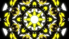 VJ Loop Color Kaleidoscope 1 - stock footage