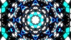 VJ Loop Color Kaleidoscope 3 Stock Footage