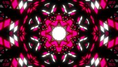 VJ Loop Color Kaleidoscope 4 - stock footage