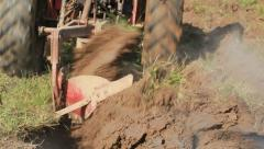 Blades of a Plow - stock footage