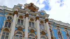 Catherine Palace, St. Petersburg. Stock Footage