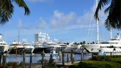 Boat show Stock Footage