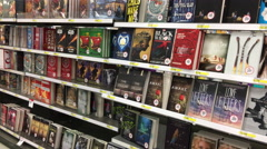 Books for young adults - stock footage