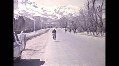 Vintage 16mm film, 1970, Afghanistan, Kabul Musuem - stock footage