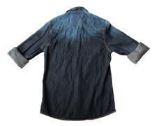 Denim Shirt. Stock Photos