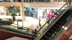 Mall retail stores 2 Stock Footage