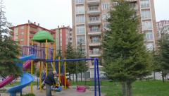 New residential district of Edirne, Turkey. - stock footage