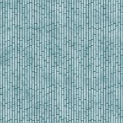 Teal Rectangle Slates Tile Pattern Repeat Background - stock illustration