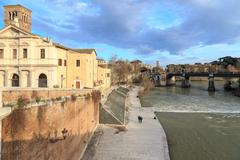 Rome by the Tiber Stock Photos