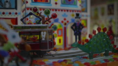 Christmas candy house - stock footage