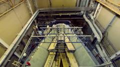 Heavy industry, shipbuilding Stock Footage