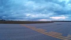 County Airport Taxiways Runways Hangars Stock Footage