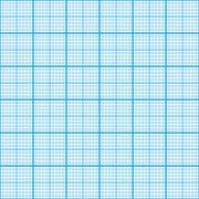 Graph paper cyan color, seamless pattern - stock illustration
