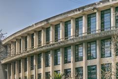 Public Architecture School of Montevdeo Stock Photos