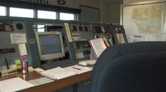 River Pilot dispatch quarters - stock footage