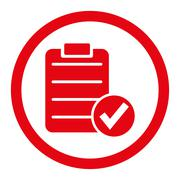 Stock Illustration of Apply Form Rounded Raster Icon