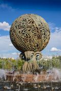 Small Fountain in the city park Kuvituskuvat