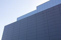 aluminum facade - stock photo